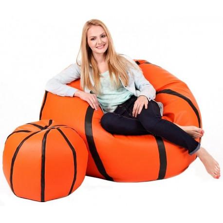 Sedací vak Basketbalový Míč XXXL sestava A