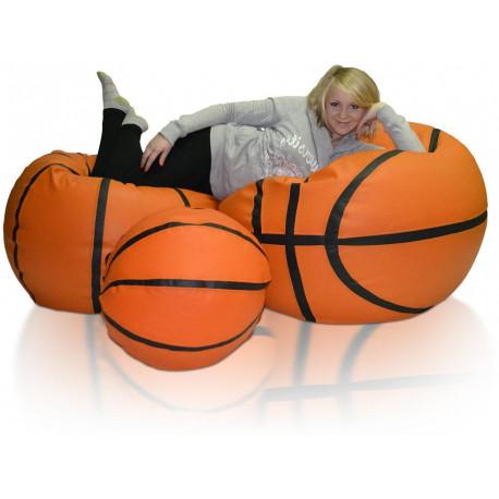 Sedací vak Basketbalový Míč XXXL sestava B