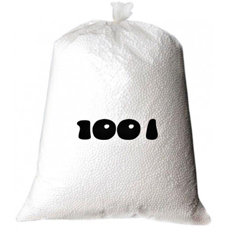 Náhradní náplň pro sedací vaky 100 litrů