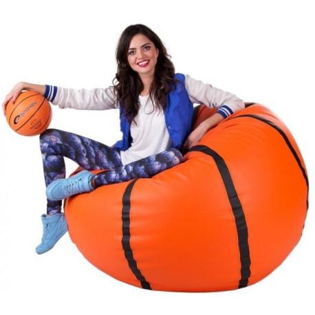 Sedací vak Basketbalový Míč XXXL